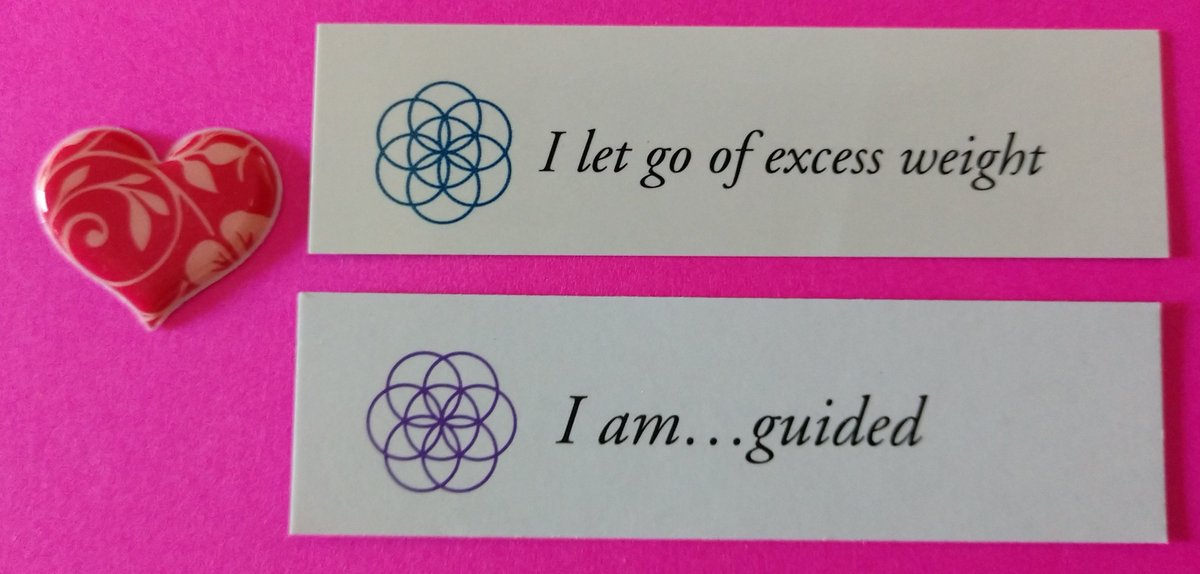 "test Twitter Media - Today's Positive Thoughts: I let go of excess weight and I am...guided. Randomly selected from ""Letting go"" and ""I am"" inspirational card sets. #affirmation https://t.co/PiTyD6977z"