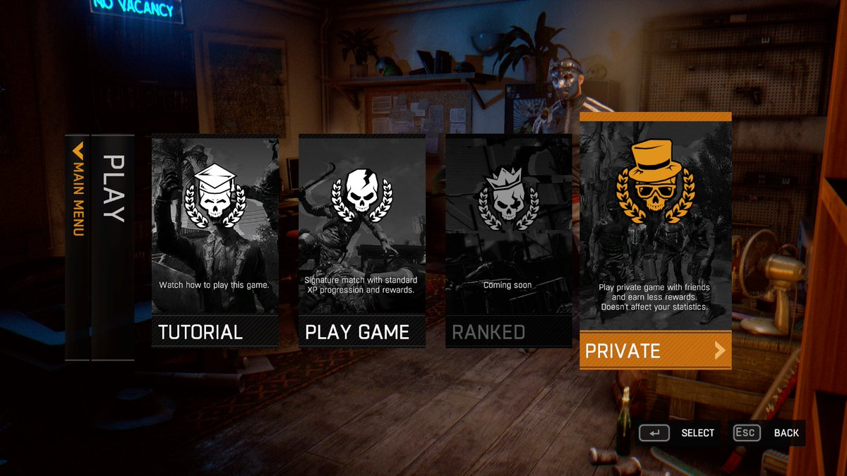 matchmaking dying light