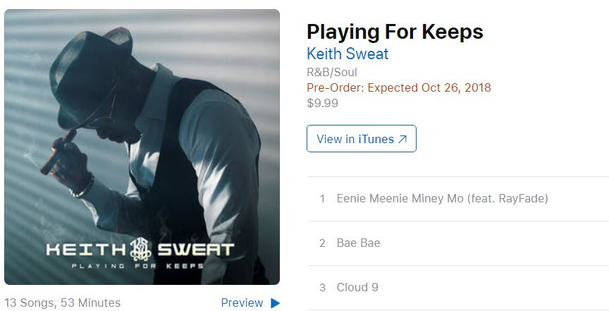 """I'm """"Playing for Keeps"""" are you?  Click on this link https://RED.lnk.to/PlayingForKeepsTA… to Pre-Order """"Playing for Keeps"""" on @iTunes!"""