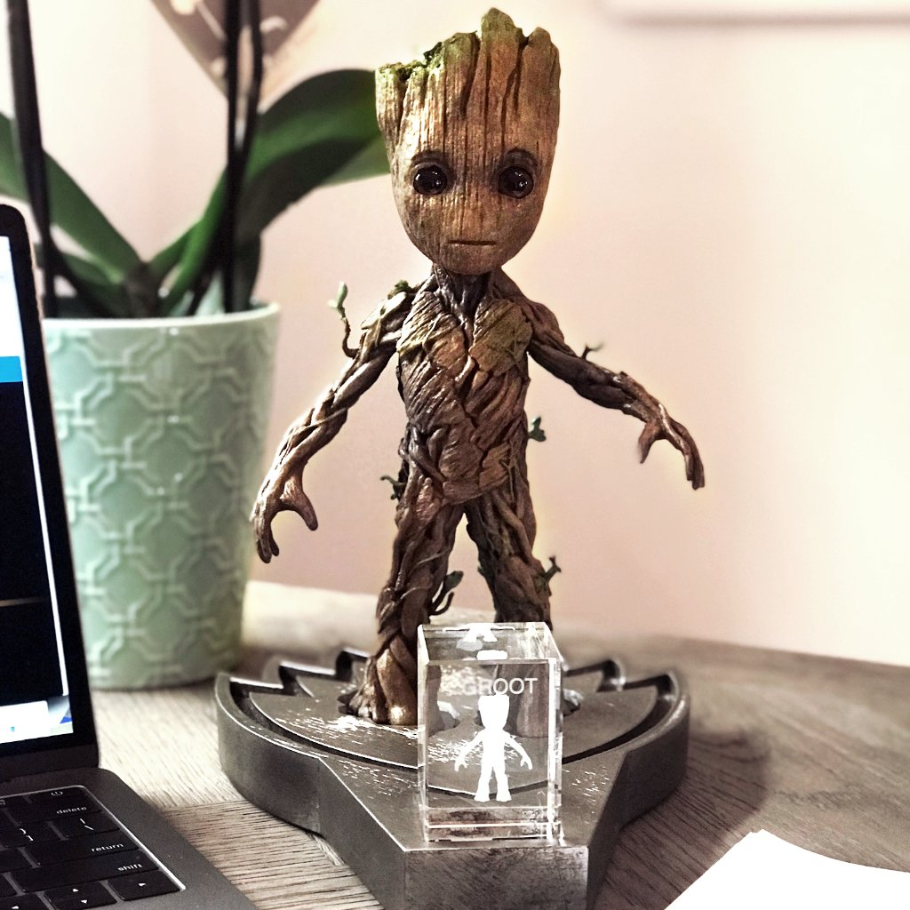 Bring home a film prop replica like this Groot puppet, made by Head of Props at Marvel Studios Russell Bobbitt (@MarvelProps), from the #MarvelMasterworks Collection! Order on bit.ly/2yvlmMS by October 10th to gift in time for the holidays.