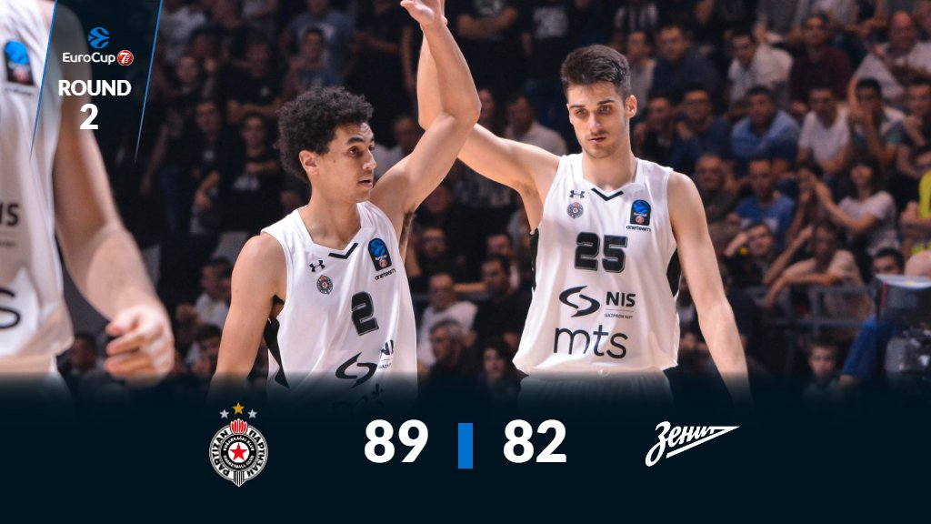 It went down to the final few seconds but @PartizanBC come out on top! #7DAYSEuroCup