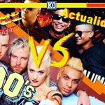 Image for the Tweet beginning: ¿90's vs Actualidad? ¿Quién ganará?