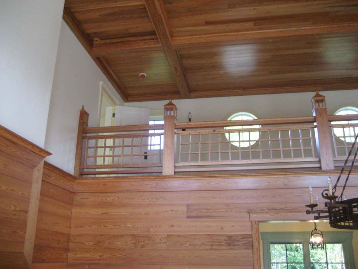 Featured Project, RK Miles Inc.: For This Project We Sawed Rough Lumber And