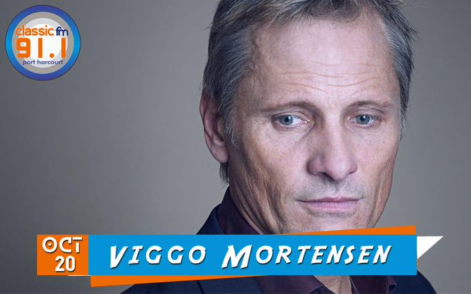 Happy birthday to actor, producer, author, musician, photographer, poet, and painter, Viggo Mortensen.
