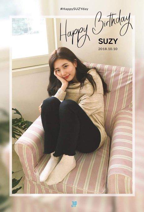 Happy birthday ate bae Suzy