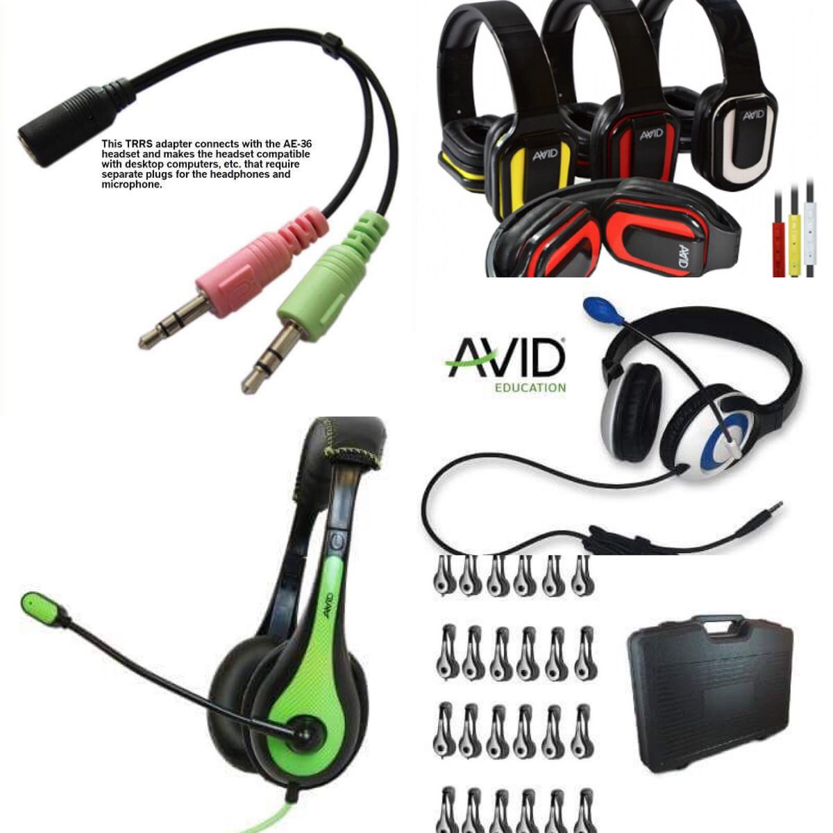 "Looking for #headphones & #headsets to meet any #classroom need?😎🍏 #AvidEducation ""a headphone for every application "" 🍏💻  https://www.encoredataproducts.com/   #encoredataproducts #education #purchasing #procurement #ipad #chromebook #headsets #headphones #earbuds #schoolsupplies"