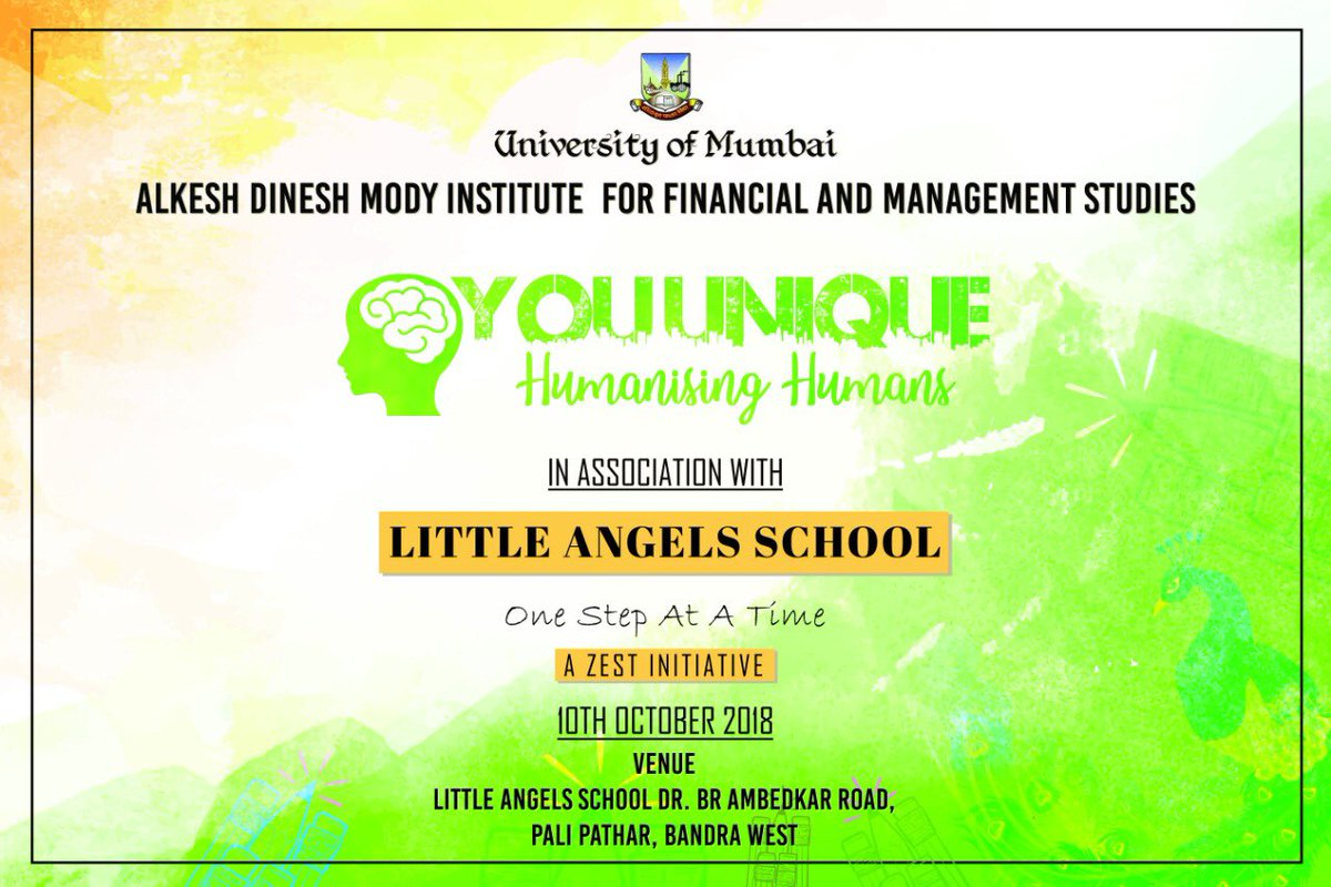 You Unique WORLD MENTAL HEALTH DAY ACTIVITY. Our You Unique Team will be visiting 'The Little Angels School' on 10th Of October 2018, which is the World Mental Health Day to spend quality time with the mentally disabled students of the school. #WorldMentalHealthDay2018 #ADMI <br>http://pic.twitter.com/UfcsywDf35