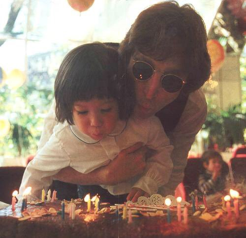 HAPPY BIRTHDAY   John & Sean Lennon  May your legacy live on.....