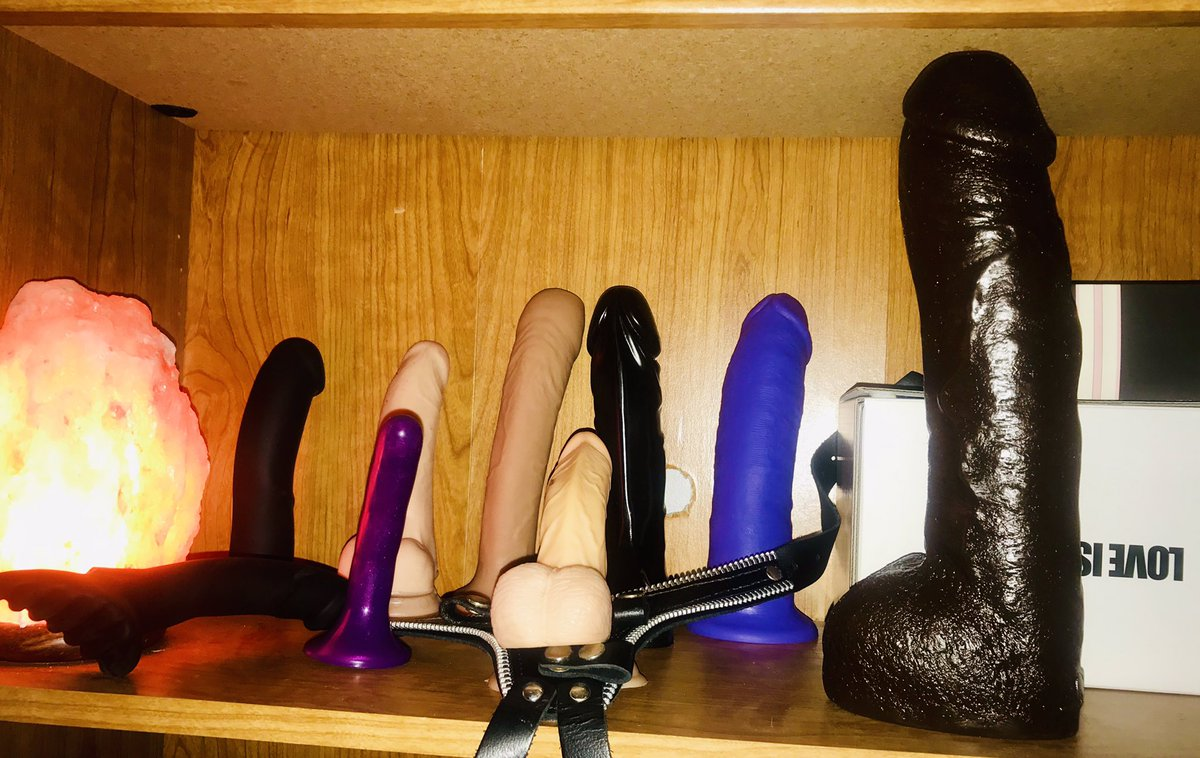 My mom's dildo collection