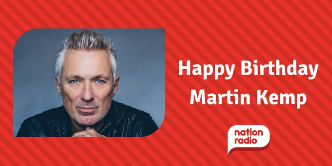 Happy Birthday Spandau Ballet s Martin Kemp, he s 57 today!