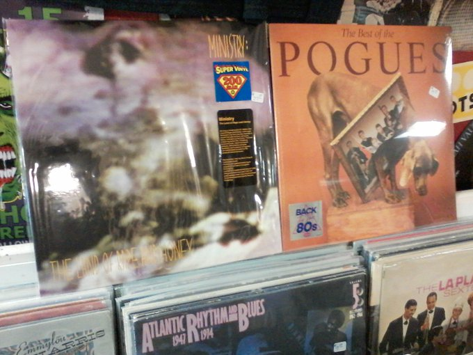 Happy Birthday to Al Jourgensen of Ministry & James Fearnley of the Pogues