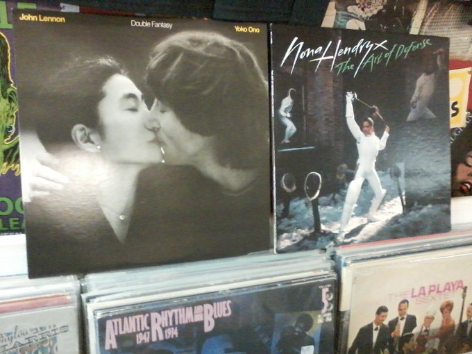 Happy Birthday to the late John Lennon (& son ) & Nona Hendryx