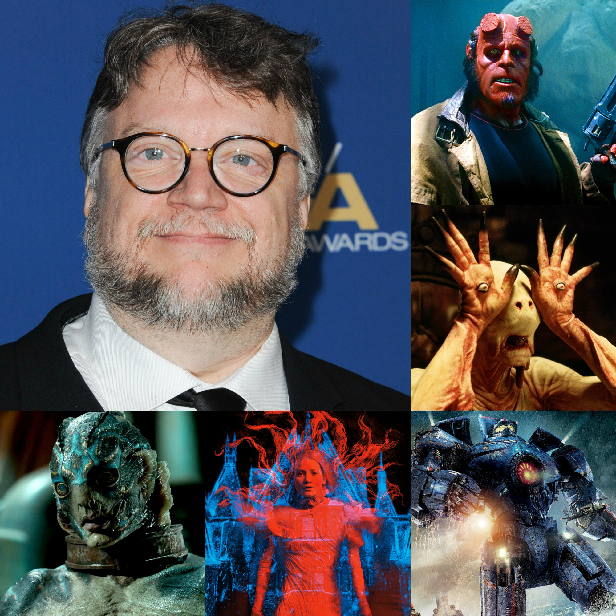 Happy birthday to Academy Award-winning director Guillermo del Toro!