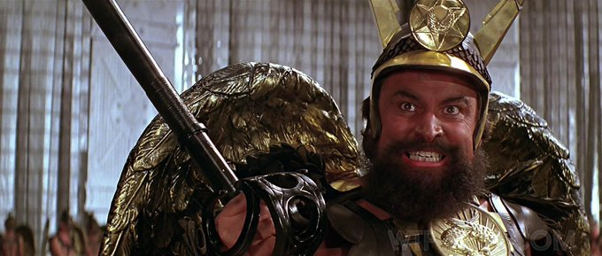 "Happy Birthday Brian Blessed!!! ""Who wants to live forever!?! DIVE!!!!!!\"""