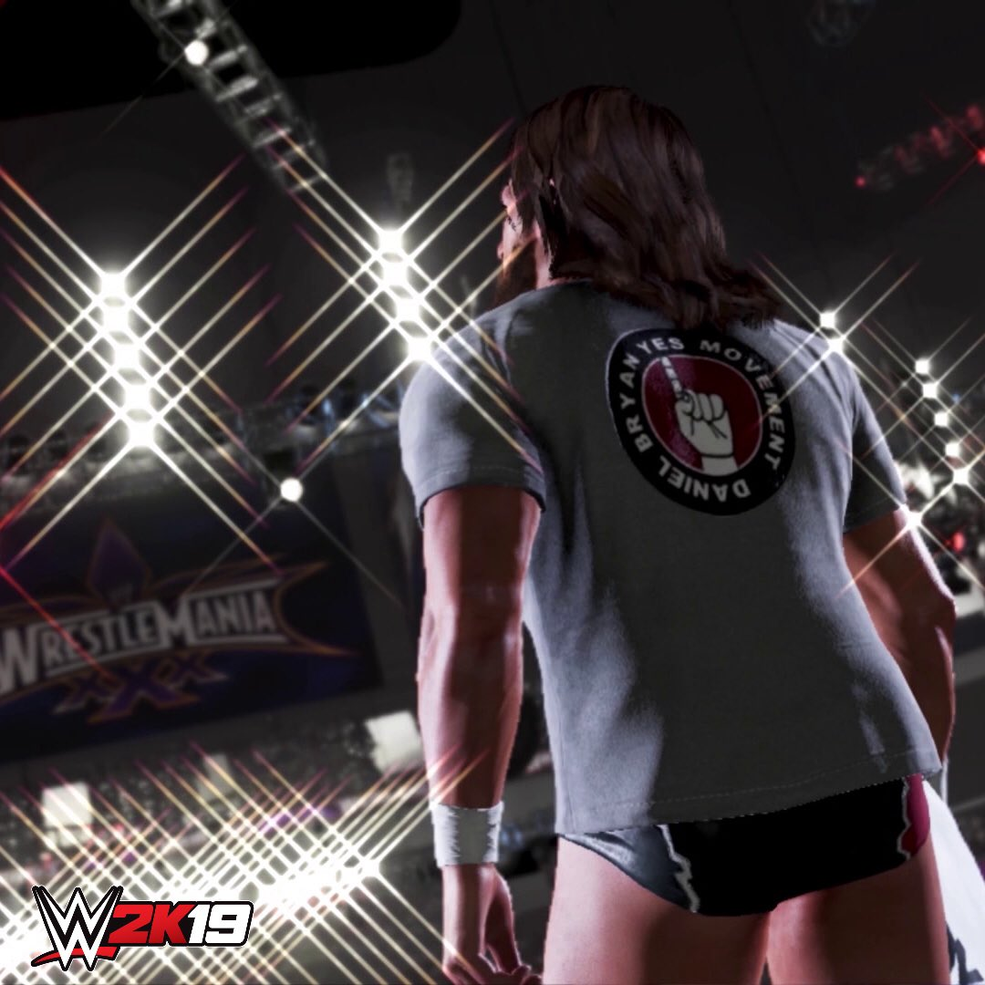 #WWE2K19 is out today. Play through my career in the returning Showcase mode. YES! YES! YES! wwe.2k.com/buy/ #ad