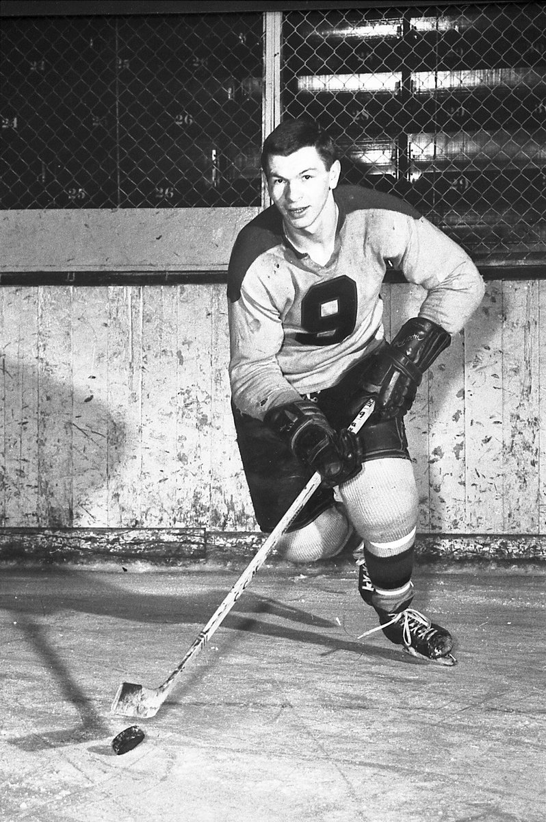 Come out to the @OHLIceDogs  V Barrie Colts game on Thurs at the @MeridianCtre  as we honour the late and great Stan Mikita. There will also be a commemorative hockey card giveaway  at the game. To purchase tickets: https://bit.ly/2KOGNxq #OurHomeSTC