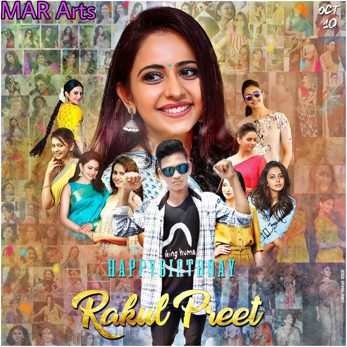 Happy birthday to Rakul Preet Singh die heart fan