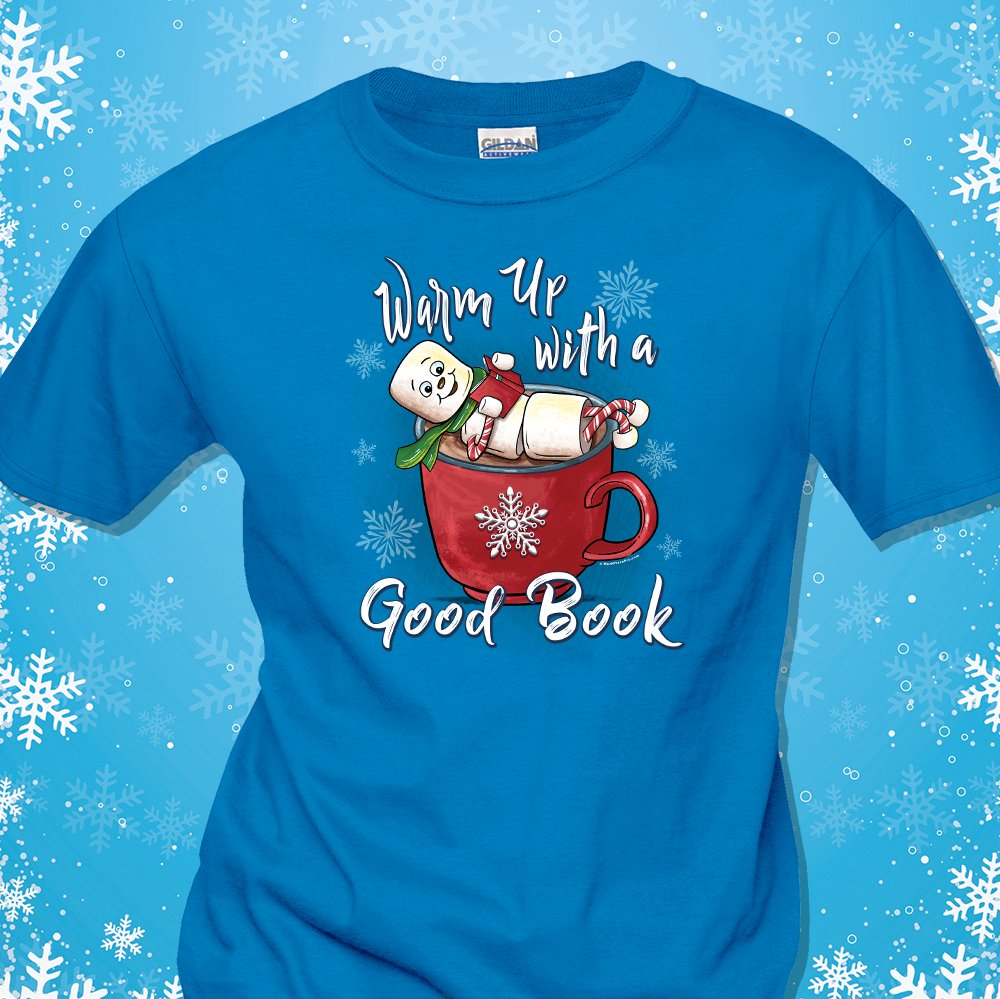 Warm up with a good book this winter! Reading shirts on sale now- last day to order!  https://t.co/k6zWACOiSR #warmupwithagoodbook #readingtshirts #libraries #workplacepro https://t.co/55UnVsZGHk