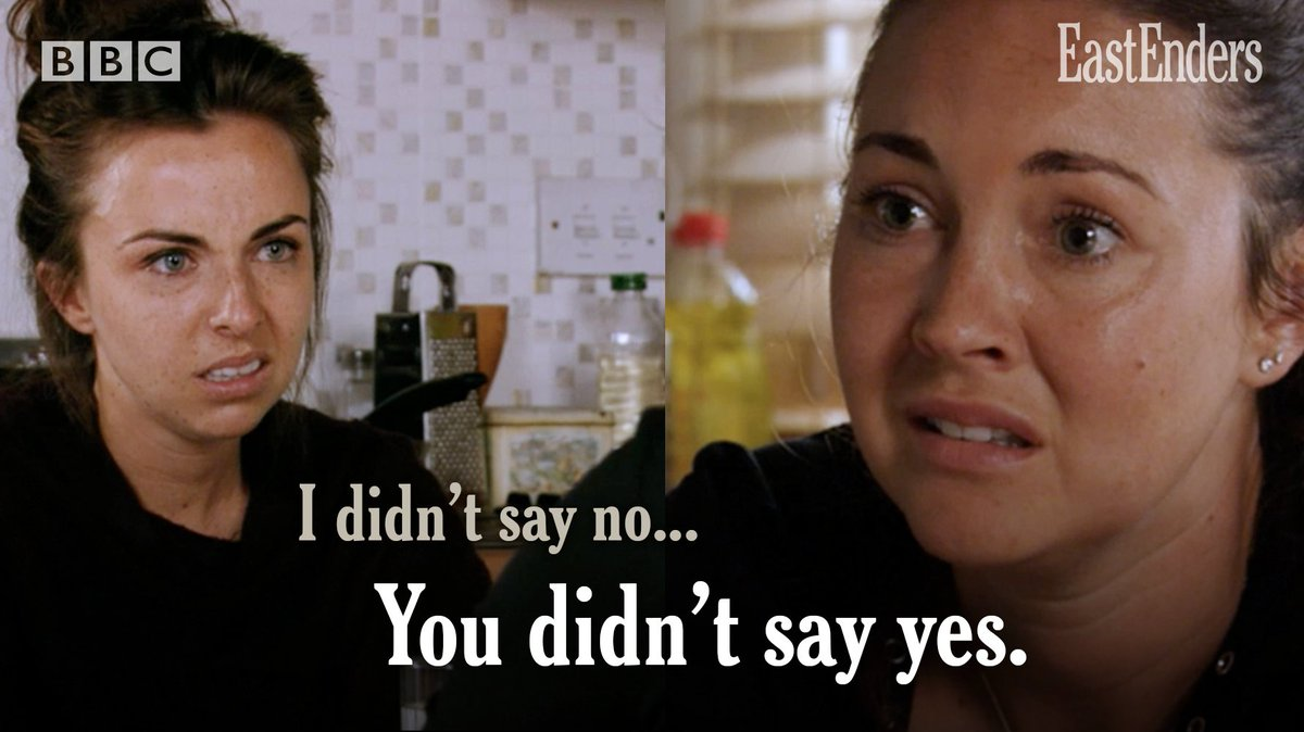 Consent. #EastEnders
