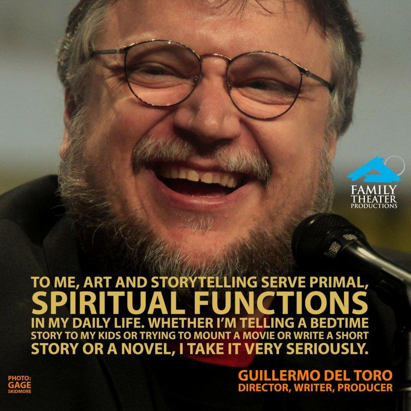 Happy Oct. 9 birthday to film auteur Guillermo del Toro ...