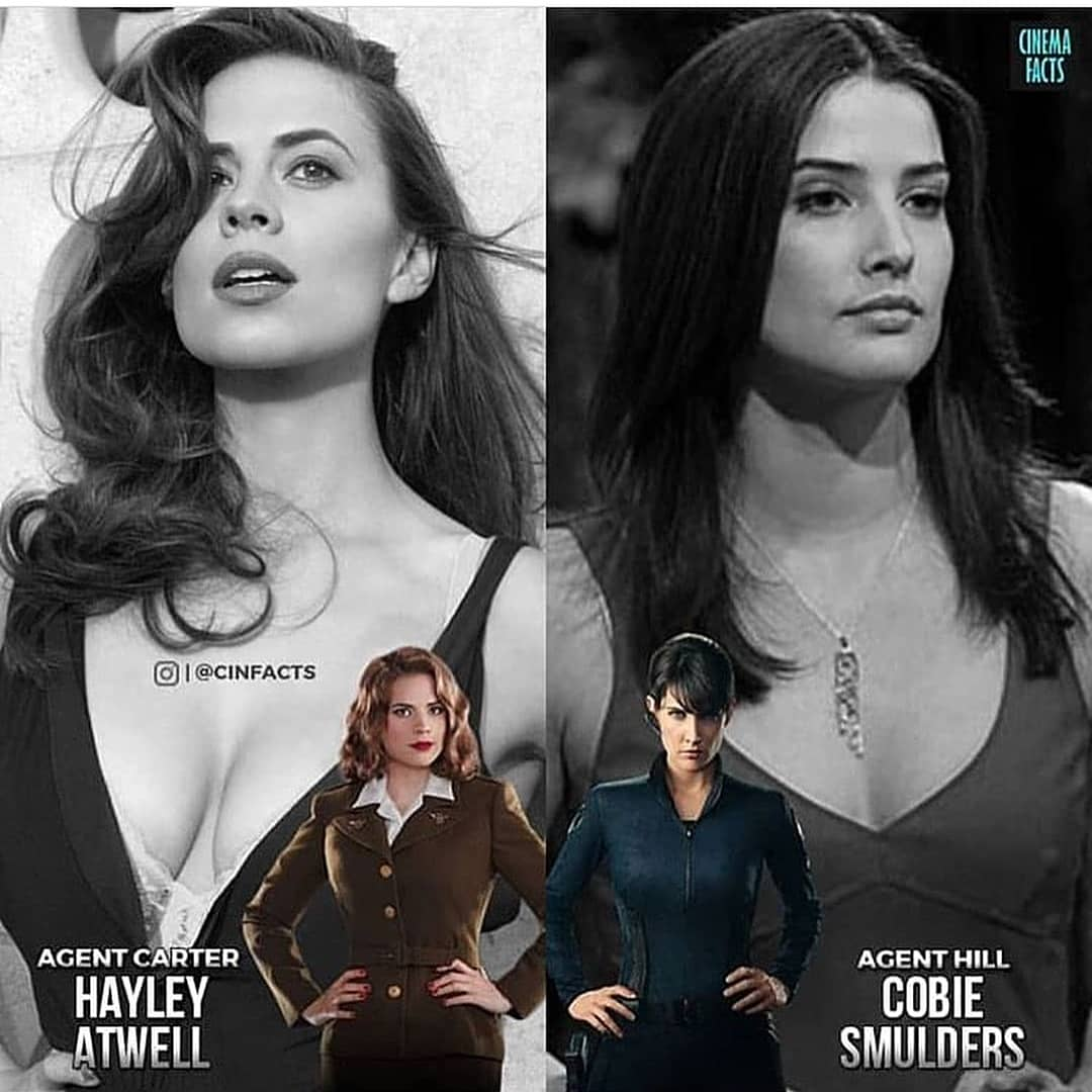 Darth Rey On Twitter A Nail Bitting Choice As Their Character Black Widow But As Real Life Real Person Cobie Smulders