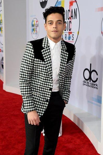 Rami Malek dressing like a rock star #VMAs