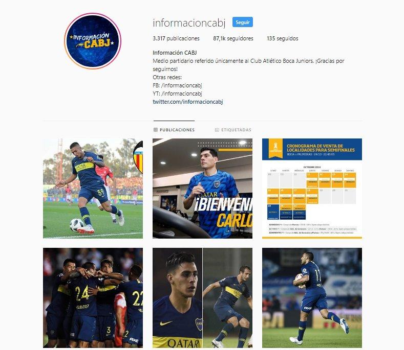 Seguí el día a día de Boca en @Instagram �� https://t.co/qm4cgTN05H  Además, estamos sorteando el #PES2019 ���� https://t.co/Xm7df2tCRK