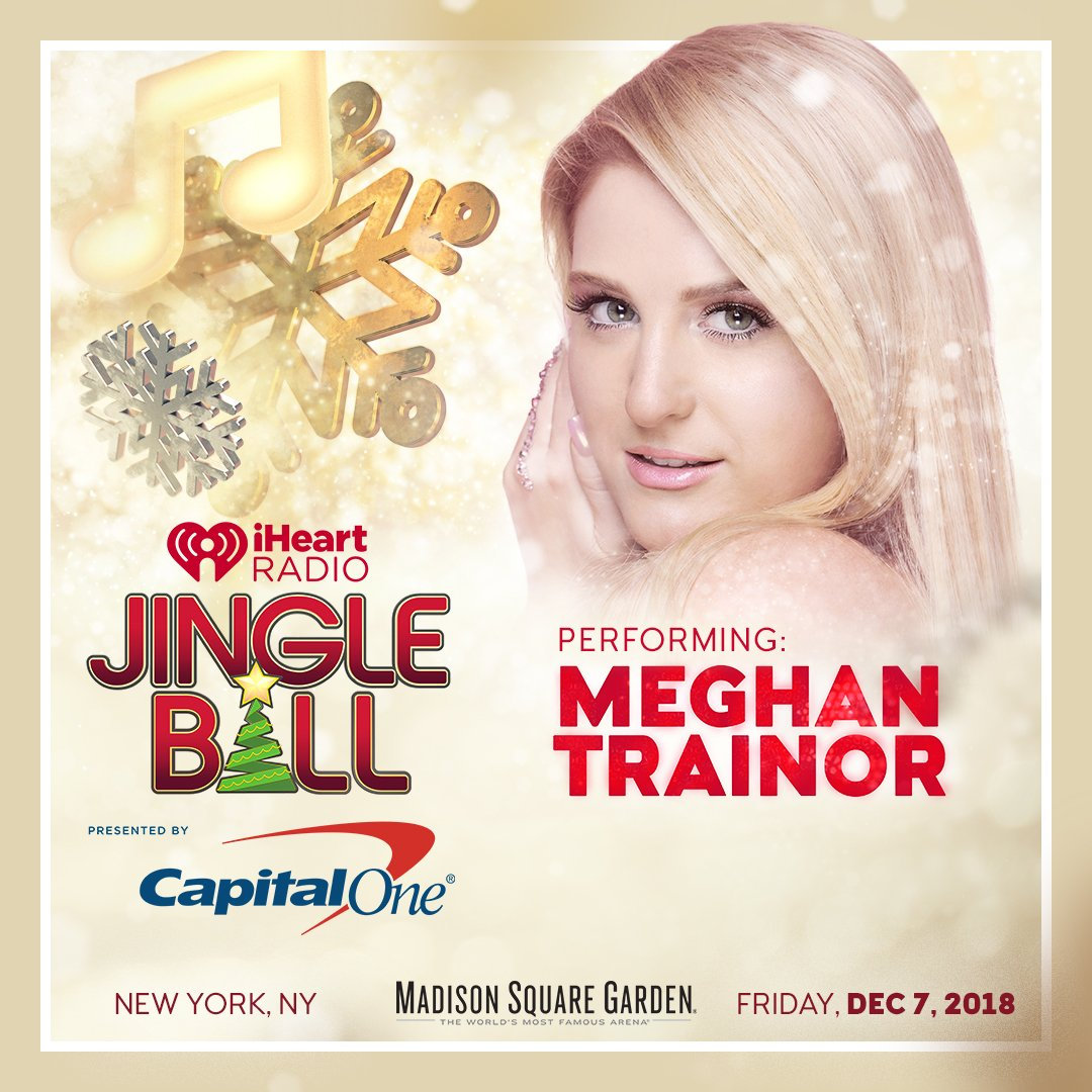 Can it be time for #iHeartJingleBall already?! See you there bb, @Meghan_Trainor 🎄  https://t.co/ODmI99991L @CapitalOne