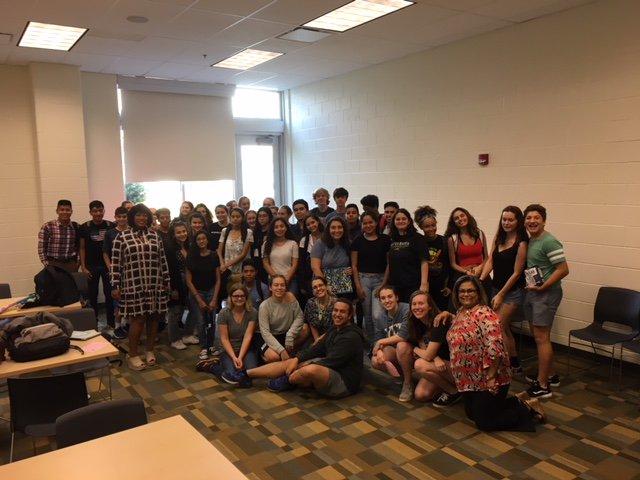 First meeting of the 2018-2019 school year!!!! Happy to see everyone!!! <a target='_blank' href='http://search.twitter.com/search?q=Spanish'><a target='_blank' href='https://twitter.com/hashtag/Spanish?src=hash'>#Spanish</a></a> <a target='_blank' href='http://twitter.com/WHSHappenings'>@WHSHappenings</a> <a target='_blank' href='http://twitter.com/WHSbuzzi'>@WHSbuzzi</a> <a target='_blank' href='http://twitter.com/WHSFridaFan'>@WHSFridaFan</a> <a target='_blank' href='http://twitter.com/SandraICosta1'>@SandraICosta1</a> Next Meeting: October 31☑️ <a target='_blank' href='https://t.co/LqjMhg7N3B'>https://t.co/LqjMhg7N3B</a>