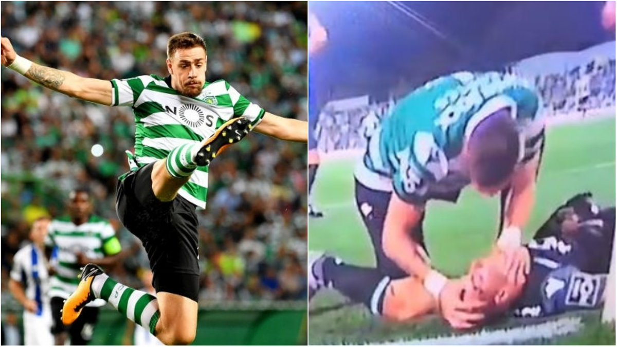Ex-Liverpool star Sebastian Coates saves the life of a player during a match