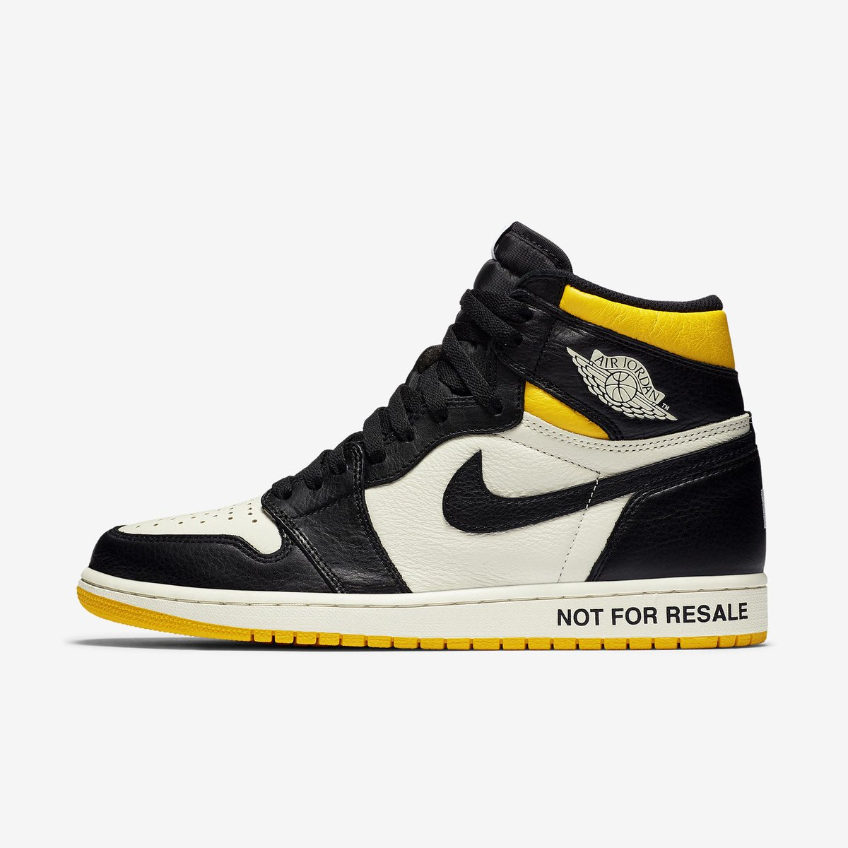 """... Official Nike images of the """"Not For Resale"""" Air Jordan 1 Retro High OG  ... da99b703f"""