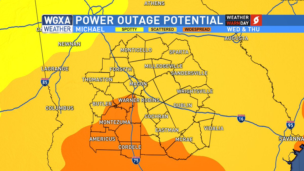 Cox Power Outage Map.Jeff Cox On Twitter Michael Widespread Power Outages Are