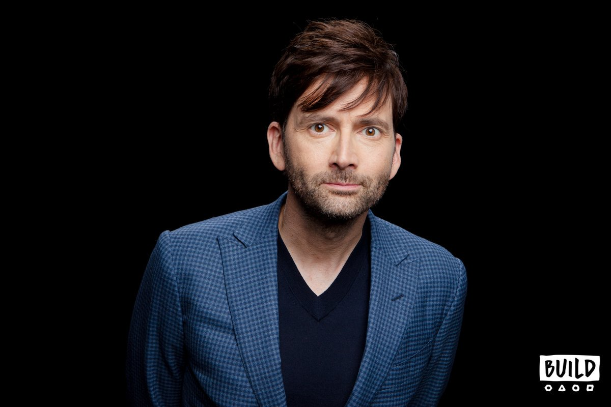 David Tennant at BUILD Series in New York  - Tuesday 9th October 2018