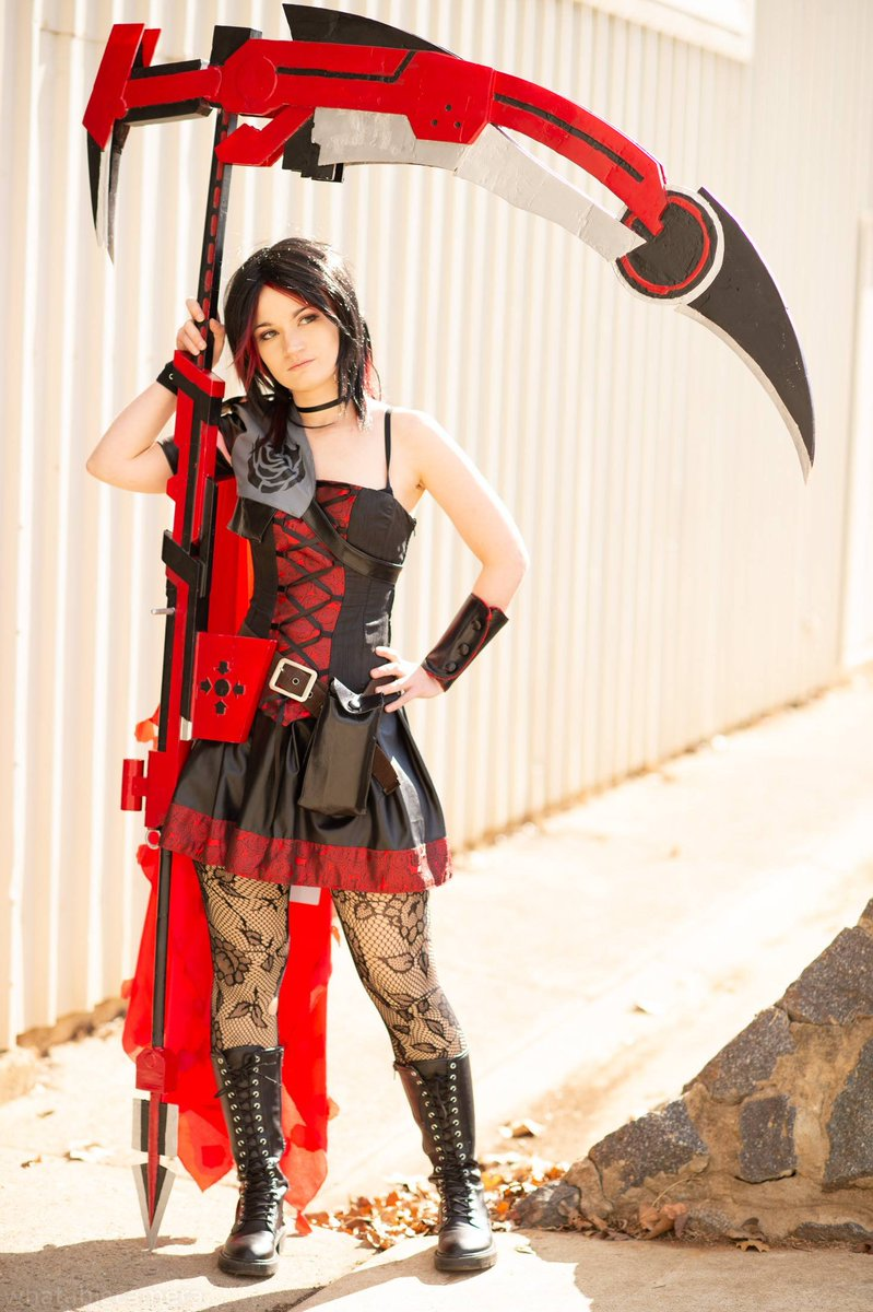 Morning Twitter Have Some Ruby Rose Cosplay Roosterteeth