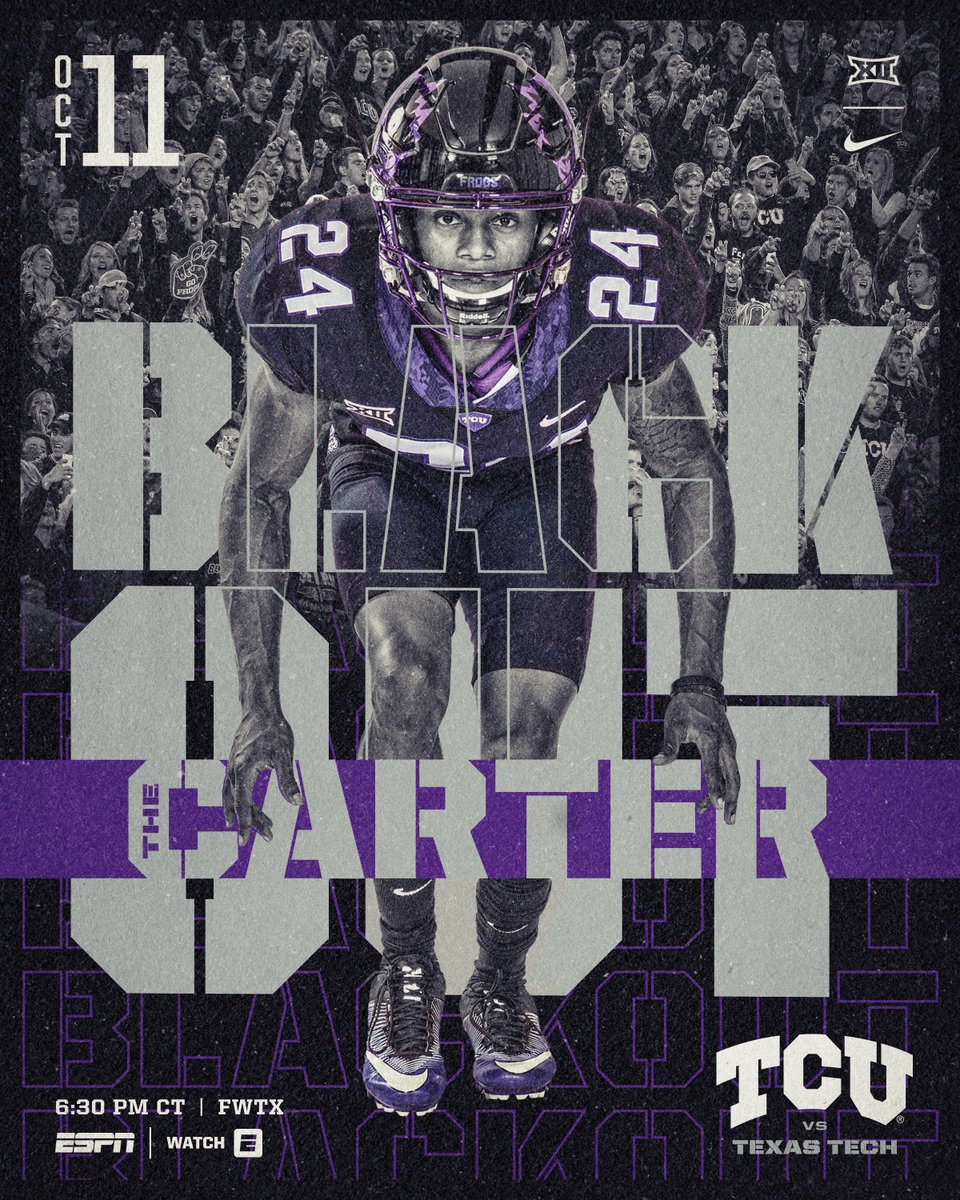 Its game day. #BlackoutTheCarter