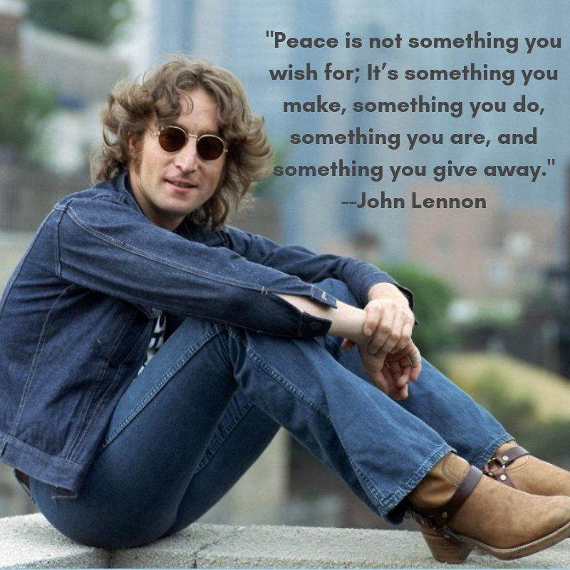 Happy Birthday, For all John Lennon all the time, check out: