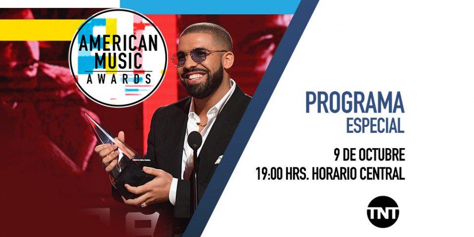 ¡Noche de premiar lo mejor de la música! Cardi B y Drake lideran los 'American Music Awards' con ocho nominaciones cada uno. Síguelos por @canaltnt. https://t.co/avHbX8Bw4j