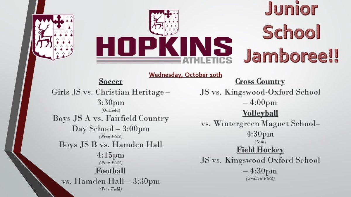 Hopkins School on Twitter: