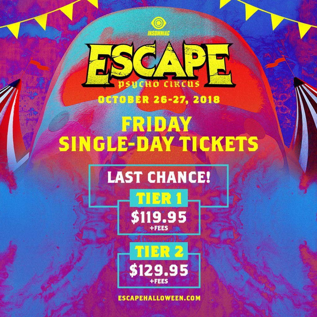 escape escapehalloween twitter