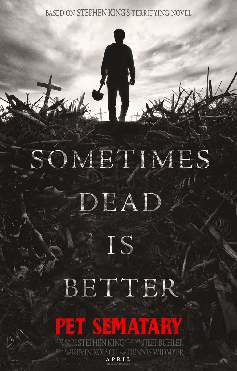 Check out the new poster for Pet Sematary! <br>http://pic.twitter.com/NhqL7XV83X