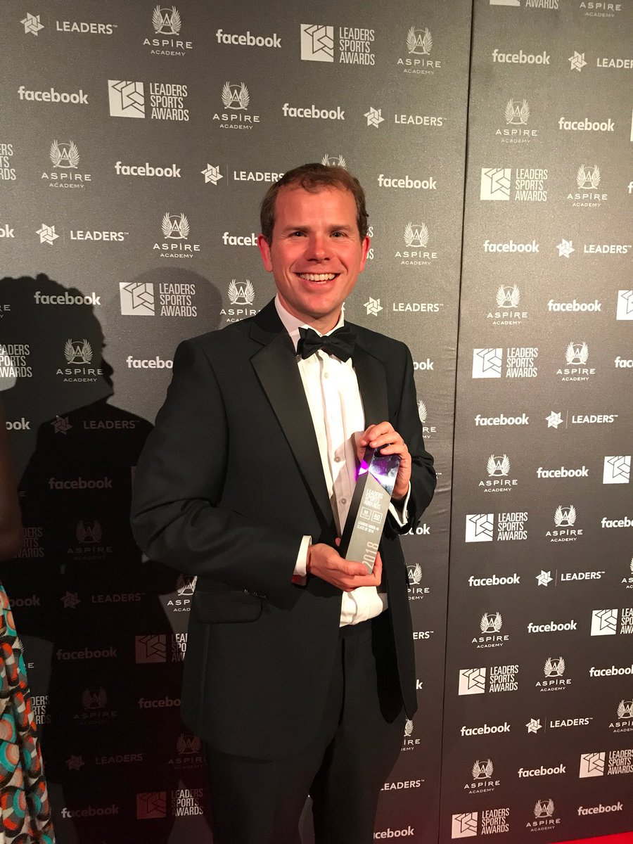 Hugely proud to join the Leaders Sports Awards Leaders Under 40 Class of 2018 tonight.  Big thanks to all @LeadersBiz for a spectacular event #LeadersWeek #LSA18<br>http://pic.twitter.com/gCl6aUF6Iq