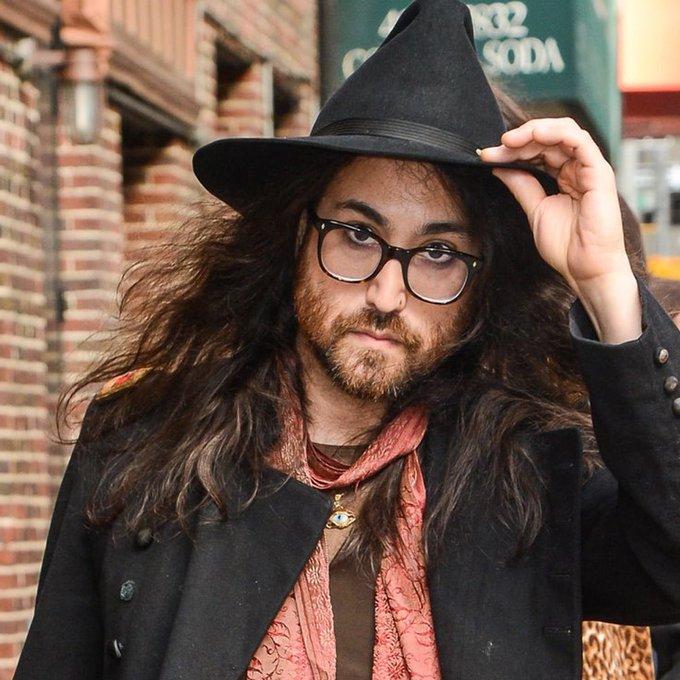 Happy 43rd Birthday to Sean Lennon! The son of The Beatles member, John Lennon.
