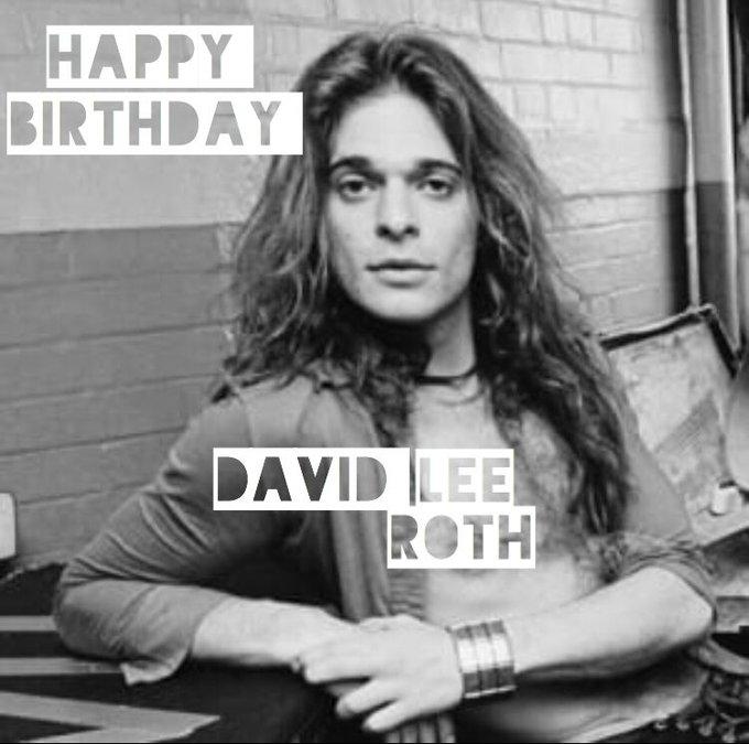 Happy Birthday to Van Halen s own David Lee Roth!