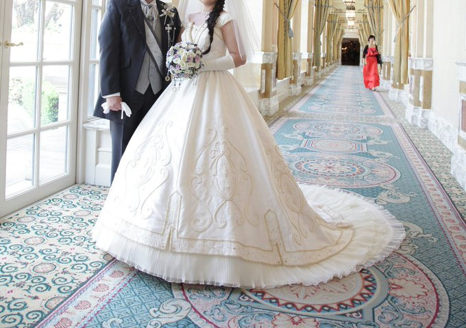 7c67dfffd047b ディズニーランドでの結婚式に仮装民は近付かないで - Togetter
