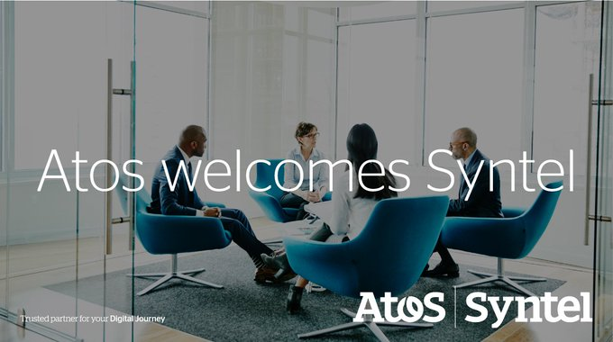 We are happy to welcome over 20,000 @Atos_Syntel colleagues to the #AtosTeam https://t.co/E9Xj6...