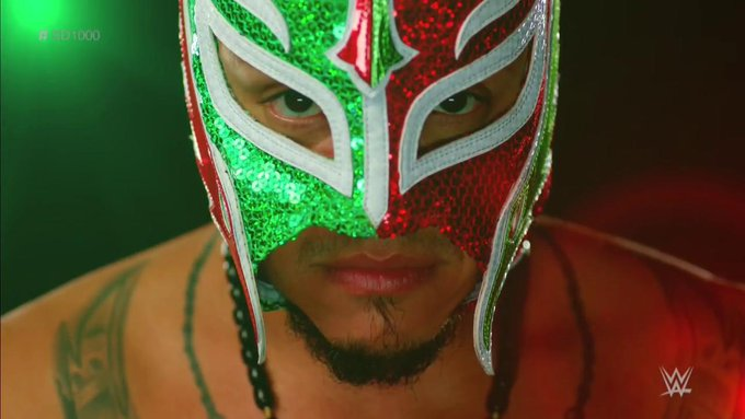6-1-9 is just 7 days #SD1000 #SDLive @reymysterio Photo