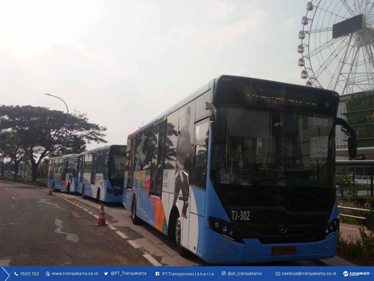 Transportasi Jakarta On Twitter Silakan Naik Rute Harapan Indah