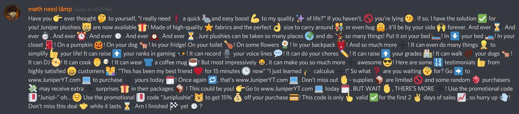 Thinking emoji copypasta