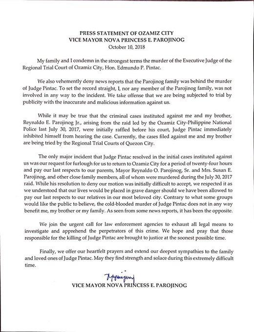 Judge Edmundo Pintac : Latest news, Breaking news headlines
