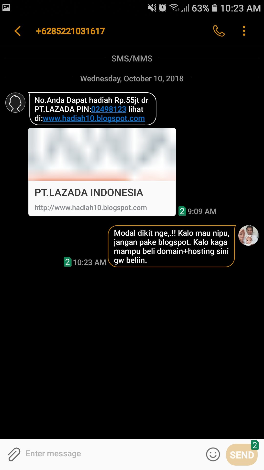 Yusup On Twitter Lazadaid Mohon D Bantu Nih Report Nomor